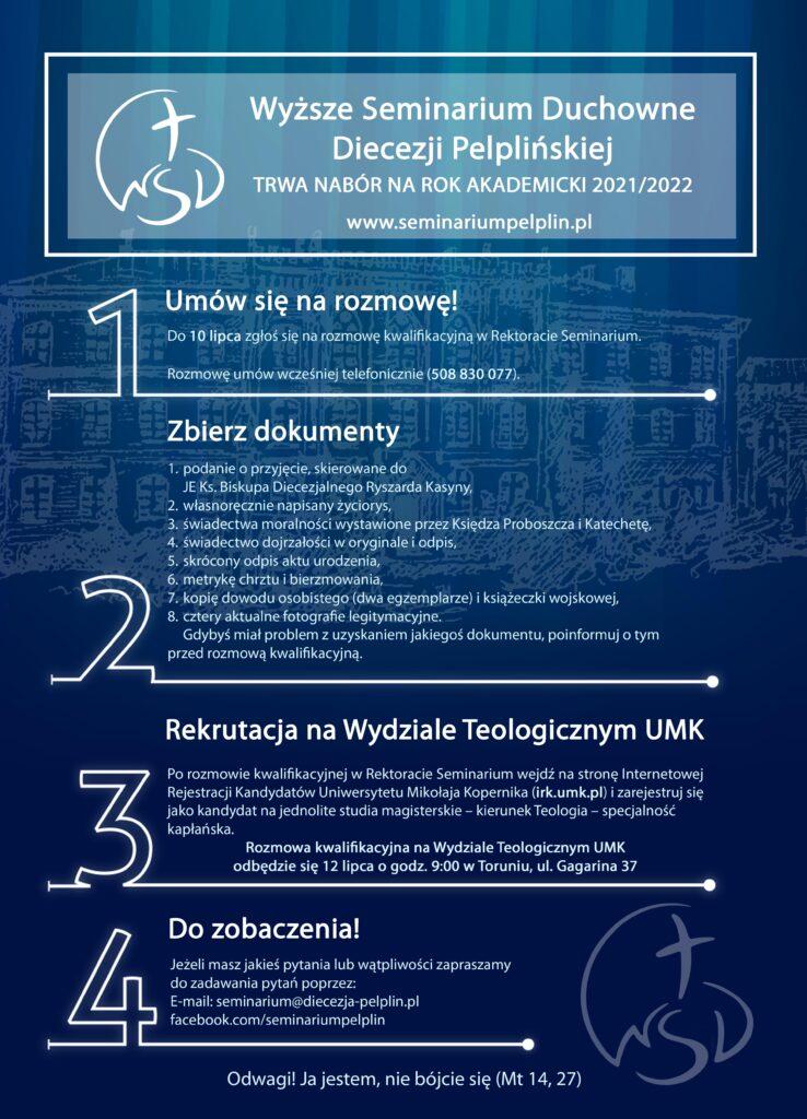 Plakat nabór WSD 2021
